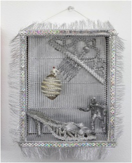Say it in Silver, mixed media, 2013