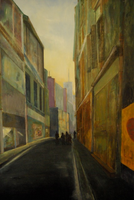 """Ann Street"" by Alexandra Dell'Amore"
