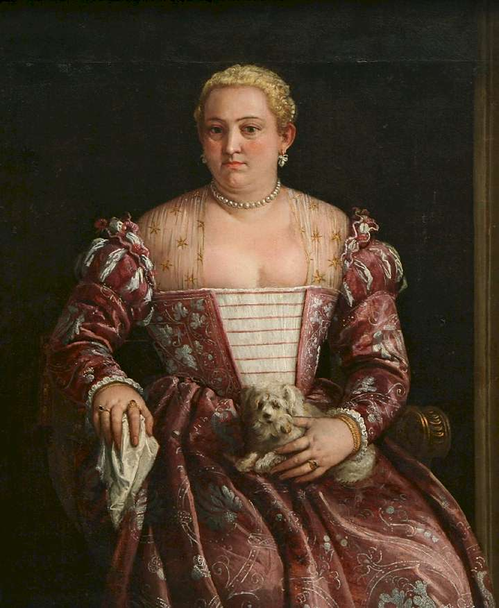 "Francesco Montemezzano, ""Portrait of a Woman"""