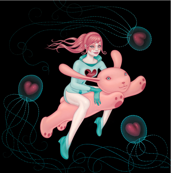 """The Love Space Gives Is as Deep as the Oceans"" by Tara McPherson"