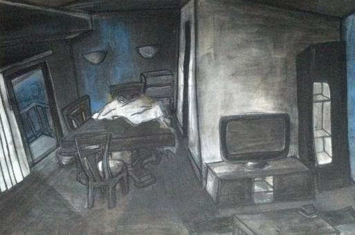 "Britta Kwamya, ""Untitled (Apartment)"""