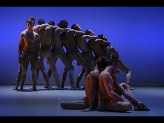 "BalletBoyz performing Liam ""Scarlett's Serpent"""